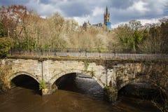 Glasgow går bron Royaltyfria Bilder