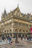Glasgow giełdy papierów wartościowych ulicy scena Obrazy Royalty Free