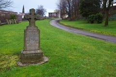 Glasgow Grave. A gravestone in Glasgow, Scotland Stock Photos