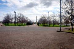 Glasgow Green der älteste allgemeine Park in Glasgow Stockfotografie