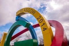 Glasgow Green der älteste allgemeine Park in Glasgow Lizenzfreie Stockbilder