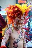 Braziliaanse danser, het KoopvaardijFestival van de Stad, Glasgow Stock Foto