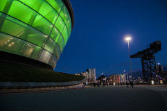Glasgow Hydro Arena Stock Photo