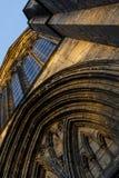 Glasgow Katedralny Abstrakcjonistyczny kąt Zdjęcie Royalty Free