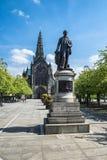 Glasgow katedry kwadrat Zdjęcie Royalty Free