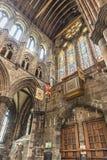 Glasgow katedry wnętrze Fotografia Royalty Free