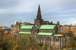 Glasgow-Kathedrale aka hohe Kirche des Glasgow-oder Str lizenzfreie stockbilder