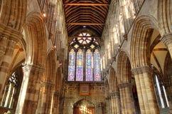 Glasgow-Kathedrale aka hohe Kirche des Glasgow-oder Str lizenzfreies stockfoto