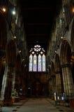 Glasgow-Kathedrale aka hohe Kirche des Glasgow-oder Str stockbild