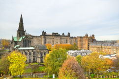 Glasgow-Kathedrale aka hohe Kirche des Glasgow-oder Str stockbilder