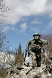 glasgow kelvingrove pomnika wojna Obraz Stock