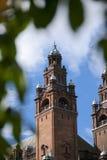 Glasgow, la Scozia, l'8 settembre 2013, il Kelvingrove Art Gallery e museo vicino al parco di Kelvingrove, Argyle Street immagine stock libera da diritti