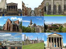 Glasgow landmarks Stock Photos