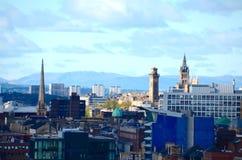 Glasgow linia horyzontu Obraz Royalty Free