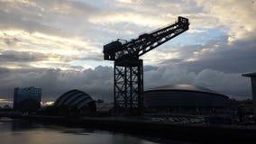 Glasgow linia horyzontu Fotografia Stock