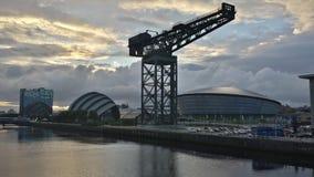 Glasgow linia horyzontu Zdjęcie Royalty Free