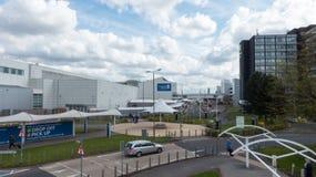 Glasgow lotnisko międzynarodowe zdjęcie stock