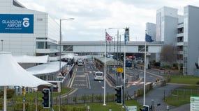 Glasgow lotnisko międzynarodowe Zdjęcia Stock