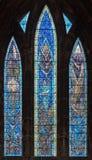 Glasgow milenium Katedralny okno Zdjęcie Stock