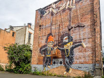 Glasgow murals Stock Images