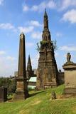 Glasgow Necropolis. Arkivbild