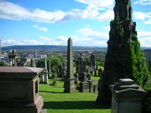 Glasgow Necropolis Royalty Free Stock Image