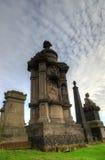 The Glasgow Necropolis, Victorian gothic cemetery, Scotland, UK Stock Image