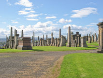 Glasgow necropolis Stock Image