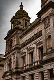 Glasgow old buildings Stock Photography