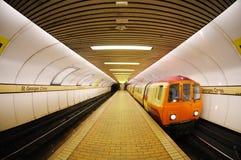 Glasgow ondergronds Stock Foto's