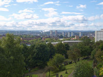 Glasgow picture. View of the city of Glasgow in Scotland Stock Image