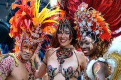 Danseurs, festival marchand de ville, Glasgow Photo stock