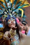 Danseur brésilien, festival marchand de ville, Glasgow Photo stock