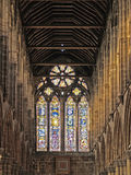 Glasgow's cathedral. Interior of Glasgow's cathedral Royalty Free Stock Images