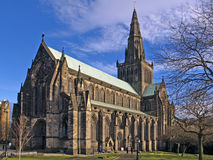 Glasgow's cathedral. Outside view Stock Photos
