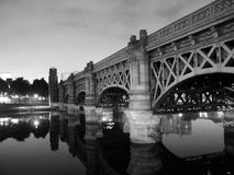 Glasgow's - Victoria Bridge Royalty Free Stock Photo