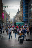 Glasgow. Saturday afternoon in glasgow downtown Stock Images