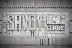 Glasgow Savoy Centre Obrazy Stock