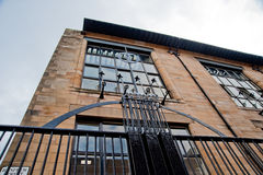 Glasgow School of Art. Building designed by Charles Rennie Mackintosh Royalty Free Stock Photos
