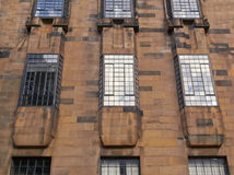 Glasgow School of Art. The Glasgow School of Art designed in 1896 by Scottish architect Charles Rennie Mackintosh, Glasgow, Scotland Royalty Free Stock Photos