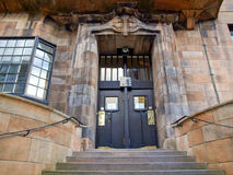 Glasgow School of Art. The Glasgow School of Art designed in 1896 by Scottish architect Charles Rennie Mackintosh, Glasgow, Scotland Stock Images