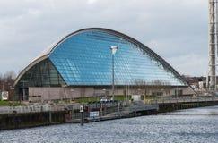 Glasgow Science Centre Imágenes de archivo libres de regalías