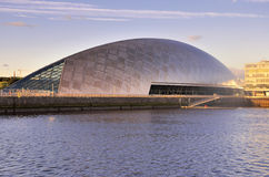 Glasgow Science Centre location Royalty Free Stock Photography