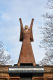 A Glasgow`s tribute statue to Dolores Ibarruri by Arthur Dooley. Glasgow, Scotland - 1 December 2017 : A Glasgow`s tribute statue to Dolores Ibarruri by Arthur Royalty Free Stock Image