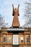 A Glasgow`s tribute statue to Dolores Ibarruri by Arthur Dooley. Glasgow, Scotland - 1 December 2017 : A Glasgow`s tribute statue to Dolores Ibarruri by Arthur Stock Photos