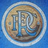 Rangers Ibrox Stadium Mosaic Stock Image