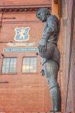 Rangers Ibrox Stadium Statue Stock Photo