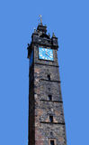 Glasgow, Scotland: The Tolbooth Steeple, one of the city`s oldes Royalty Free Stock Photos