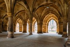 The Cloisters also known as The Undercroft - iconic part of th royalty free stock image