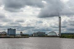 Science Center, Armadillo and Crown Plaza Hotel, Glasgow, Scotla Royalty Free Stock Photos